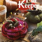 Y490 Crochet PATTERN ONLY 2 Tomato Shaped Pin Keeper Pincushion Patterns