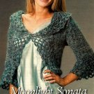 Y780 Crochet PATTERN ONLY Moonlight Sonata Lacy Cardigan Sweater Pattern