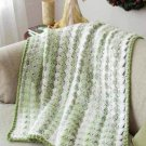 Y919 Crochet PATTERN ONLY Easy Christmas Afghan Pattern