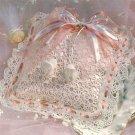 W167 Crochet PATTERN ONLY Ring Bearer's Pillow Wedding Pattern