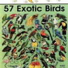 W084 Cross Stitch PATTERN ONLY Jeanette Crews 57 Exotic Birds Charts One Nighter