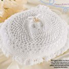 W039 Crochet PATTERN ONLY Double Wedding Ring Bearer Pillow Anniversary