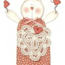Y238 Craft PATTERN ONLY Cool Cat Valentine Kitty Wall Hanging Craft Pattern