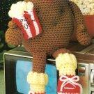 X772 Crochet PATTERN ONLY T.V. Couch Potato Toy Doll Pattern