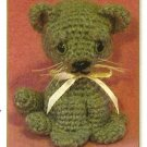 Y301 Crochet PATTERN ONLY Baby Kitty Kitten Cat Toy Pattern