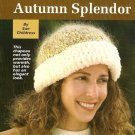 X960 Crochet PATTERN ONLY Autumn Splendor Stocking Hat