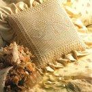 Y179 Filet Crochet PATTERN ONLY Wedding Bells Pillow Bride Anniversary