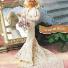 X775 Crochet PATTERN ONLY Victorian Bride Gown Fashion Doll Barbie