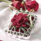 Y548 Crochet PATTERN ONLY Rose for Mom Sachet Pattern