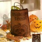 X717 Crochet PATTERN ONLY Halloween Trick or Treat & Mini Treat Bags