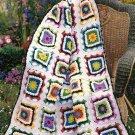 Y406 Crochet PATTERN ONLY Kaleidoscope Afghan Throw Pattern