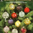 Y219 Bead PATTERN Book ONLY Beaded Ornaments 17 Christmas Ornaments Covers