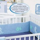 Y119 Crochet PATTERN ONLY Ocean Creatures Nursery Set Crib Bumpers