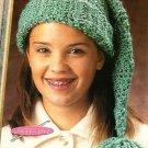 X931 Crochet PATTERN ONLY Seaspray Christmas Stocking Cap