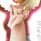 X800 Crochet PATTERN ONLY Fashion Doll Mother's Love Angel Gown & Baby Barbie