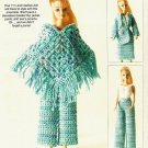 X238 Crochet PATTERN ONLY Weekend on the Town Fashion Doll Barbie Outfit Pattern