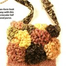 X525 Crochet PATTERN ONLY Floral Mum Shoulder Purse Pattern & Bonus