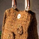 X335 Crochet PATTERN ONLY Moonlight Mohair Purse Pattern