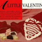 X383 Crochet PATTERN ONLY a Little Valentine Heart Sachet Pattern