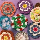 X984 Crochet PATTERN ONLY Seasonal Mini Mats Coaster Doily