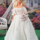 W215 Crochet PATTERN ONLY Fashion Doll Southern Belle Bride Gown & Hat Pattern