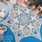 W223 Crochet PATTERN ONLY Sea Star Doily Pattern