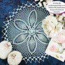 W229 Crochet PATTERN ONLY Pineapple Pleasure Doily Pattern