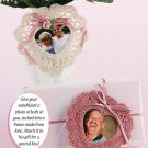 W231 Crochet PATTERN ONLY 2 Heart Shape Frames for Valentine's Day Pattern