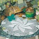 Y120 Crochet PATTERN ONLY Pinwheel Treat Doily Pattern