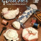 X959 Crochet PATTERN Book ONLY 8 Sachet Pincushions Swan Chicken Turtle