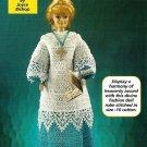 Y536 Crochet PATTERN ONLY Choir Girl Fashion Doll Robe Cassock Surplice Patterns