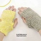 Y783 Crochet PATTERN ONLY Day and Night Fingerless Gloves Pattern
