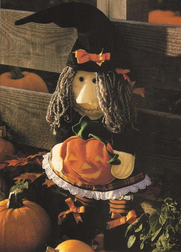 X303 Sewing PATTERN ONLY Best Witch Halloween Soft Body Doll Pattern