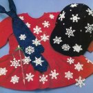 Y231 Crochet PATTERN ONLY 24 Teeny Tiny Snowflake Christmas Ornaments Patterns