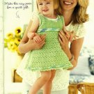 Y927 Crochet PATTERN ONLY Sweet & Swingy Baby Dress Pattern