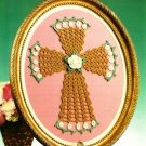 X526 Crochet PATTERN ONLY Cro-Tat Irish Rose Cross Pattern