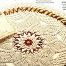X134 Crochet PATTERN ONLY Noel Centerpiece Doily Pattern Christmas