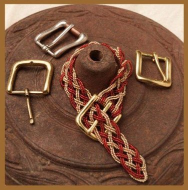 W085 Bead PATTERN ONLY Beaded Belt Buckle Braid Bracelet Pattern