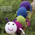 W248 Crochet PATTERN ONLY Glitterbug Caterpillar Bug Toy Pattern