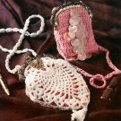 Y778 Crochet PATTERN ONLY Vintage Treasures Tiny Little Purses Patterns
