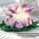 W290 Crochet PATTERN ONLY Pansy Tea Light Candle Holder Pattern