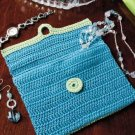 W298 Crochet PATTERN ONLY Bureau Jewelry Bag Pattern