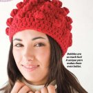 Y067 Crochet PATTERN ONLY Bobble Hat Stocking Cap