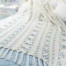 W359 Crochet PATTERN ONLY Butterflies & Blossoms Afghan Throw Pattern