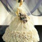 X964 Crochet PATTERN ONLY Summer Elegance Bride Wedding Gown Fashion Doll Barbie