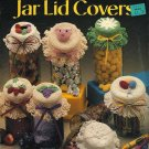 Y056 Crochet PATTERN Book ONLY Crocheted Jar Lid Covers Pig Balloons Daisy Grape