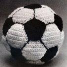 W317 Crochet PATTERN ONLY Soccer Ball Pattern