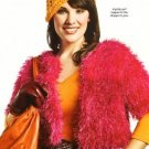 X207 Crochet PATTERN ONLY Shoppers Dream Shrug & Mango Cloche Hat Pattern
