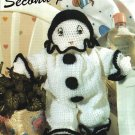 X152 Crochet PATTERN ONLY Classic French Clown Doll Pattern & Bonus
