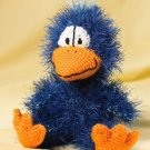 Y066 Crochet PATTERN ONLY Quirky the Blue Bird Toy Doll